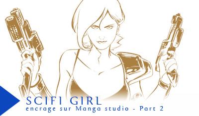 Vidéo Scifi girl 2