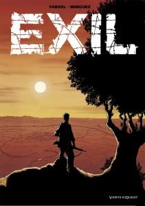Exil, la couverture